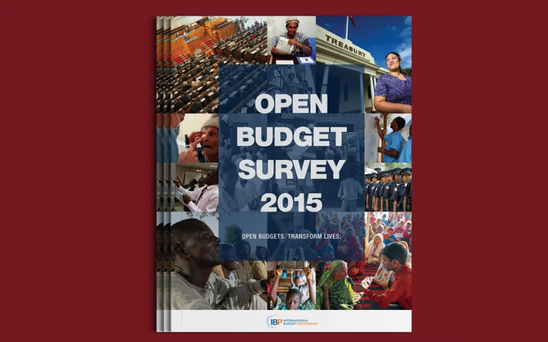 International Budget Partnership Open Budget Survey 2015 Report Design