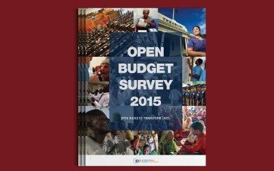 International Budget Partnership Open Budget Survey 2015 Report Design