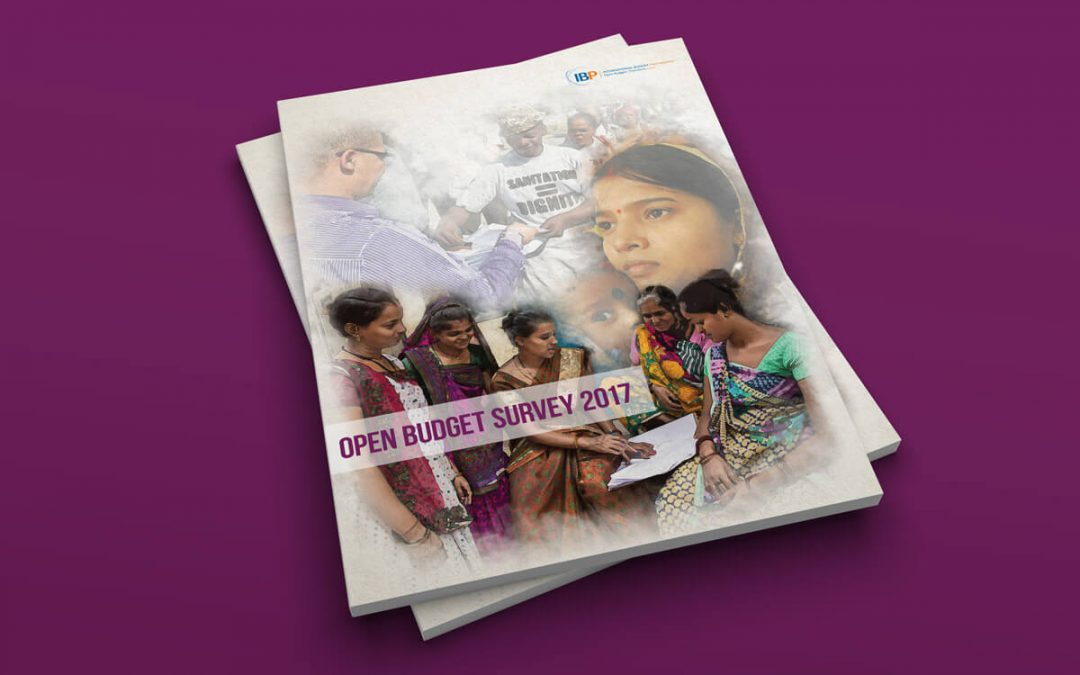 Report Design International Budget Partnership Open Budget Survey 2017