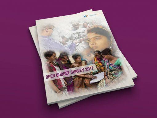 Report Design International Budget Partnership Open Budget Survey 2017