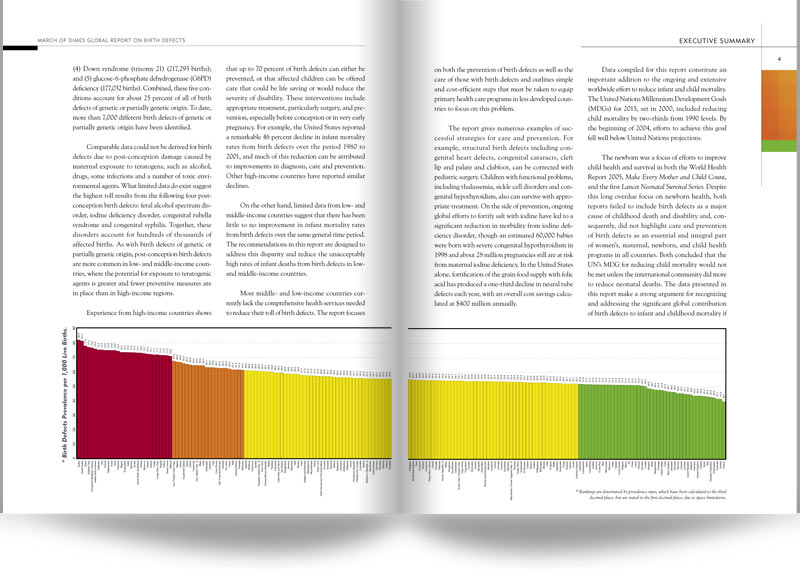 March of Dimes Global Sample Report Design Spread 03