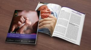 Report Design March of Dimes Global Action Report on Preterm Birth