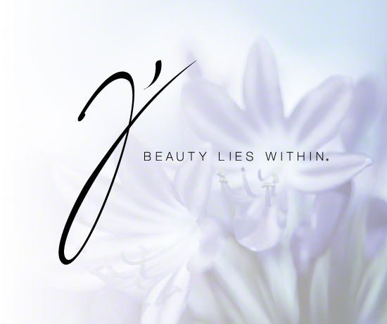 J Cosmetics Company Slogan: Beauty Lies Within.