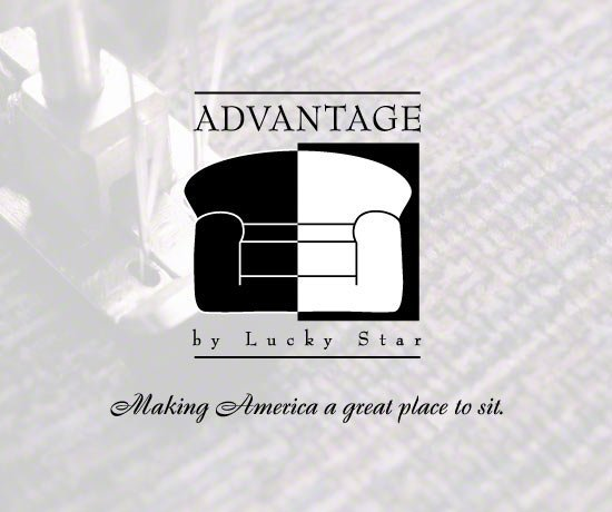 Advantage by Lucky Star Slogan. Making America A Great Place To Sit.