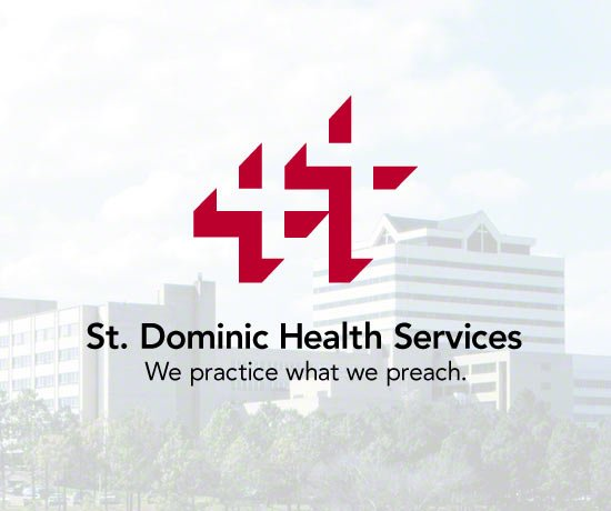 St Dominic Healthcare Slogan: We Practice What We Preach
