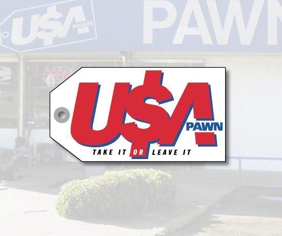 USA Pawn Shop Slogan. Take It Or Leave It.