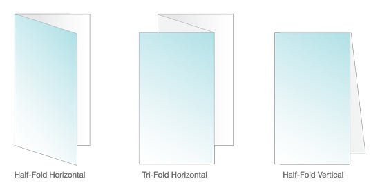 Standard Wallet Brochure Size Formats