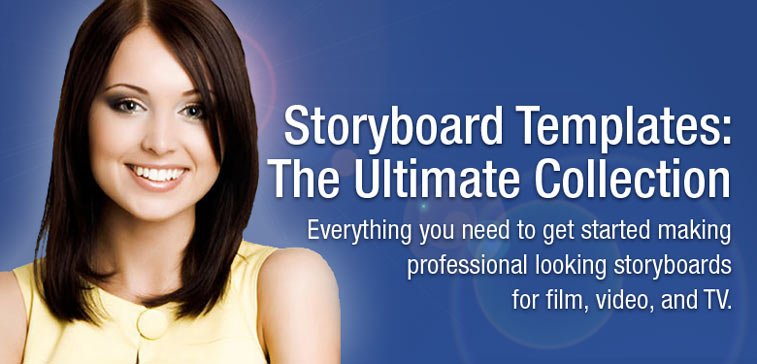 Collection of Storyboard Templates