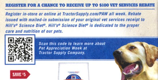 Tractor Supply Direct Mail Promotion