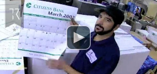 Citizens Bank Television Commercial (Calendar)
