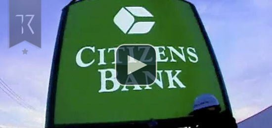 Citizens Bank Television Commercial (Getting Ready)
