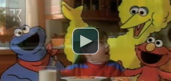 Sesame Street Pasta TV Commercial