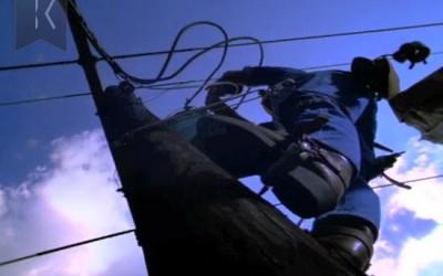 Union Planters Bank TV Commercial: Telephone Lineman