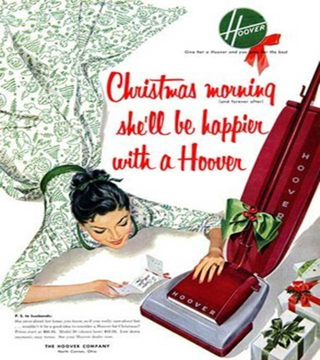 Vintage Print Ad for Hoover Vacuum
