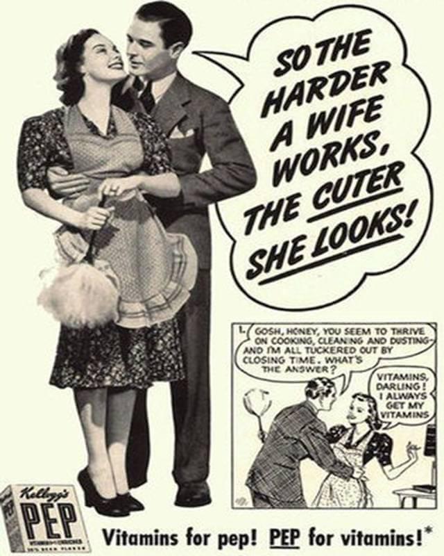 Vintage Print Ad for Pep Vitamins