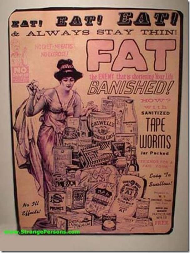 Vintage Print Ad for Weight Loss