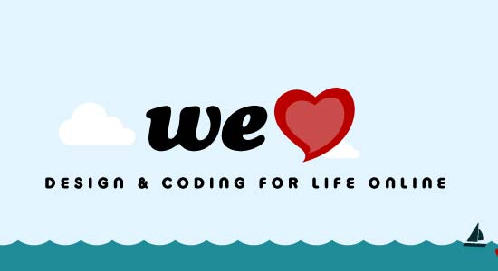 Official We Heart Logo Design