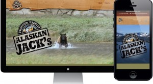 Alaskan Jack's Seafood Website Design