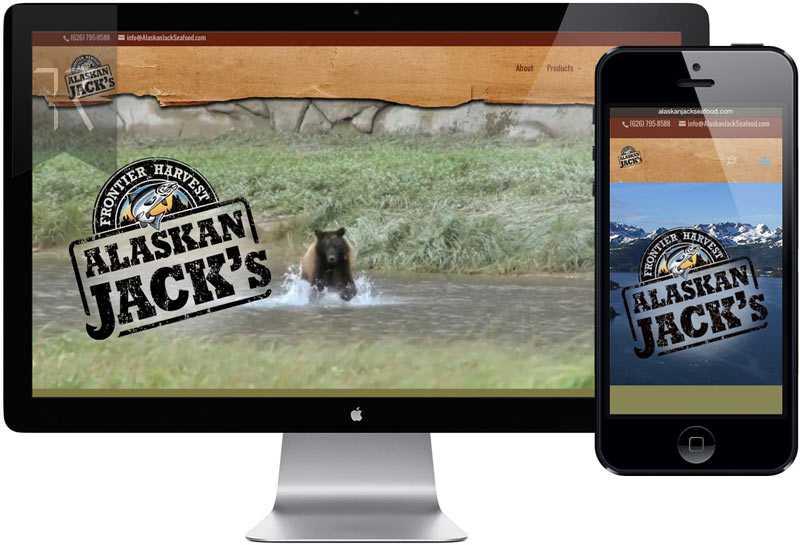 Alaskan Jacks Website Design