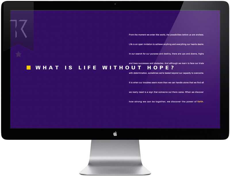 Faith Foundation Website Design