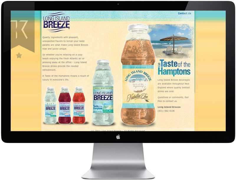 Long Island Breeze Website Design