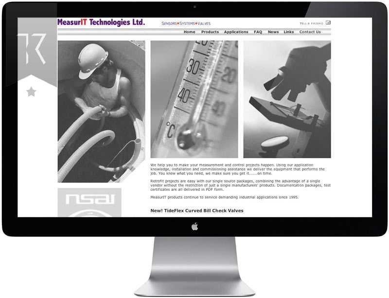 Measurit Website Design