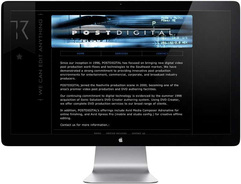 POstDigital Website Design