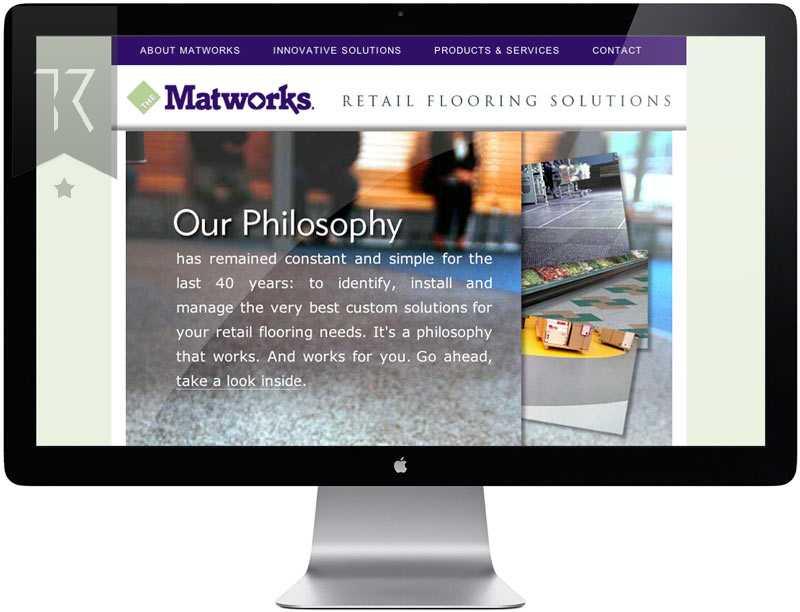 Matworks Flooring Website Design