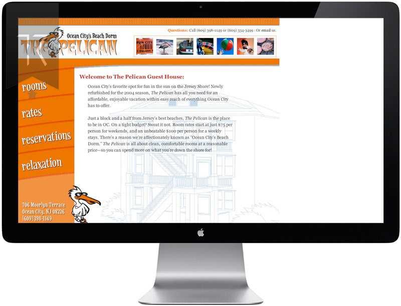 Pelican Guest House Website Design